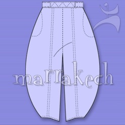 MARRAKECH LONG HAREM PANTS